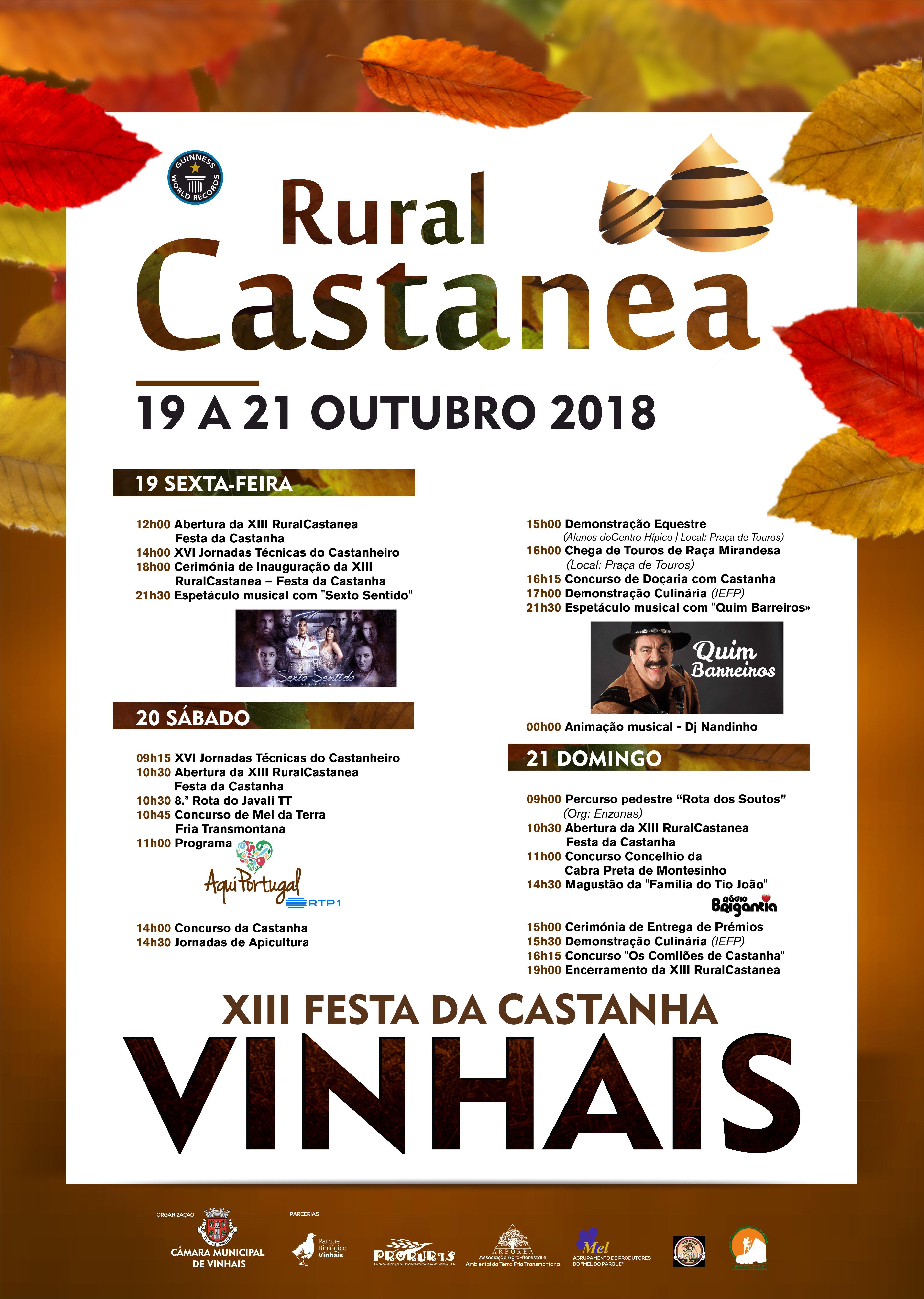 Rural Castanea - programa 2018