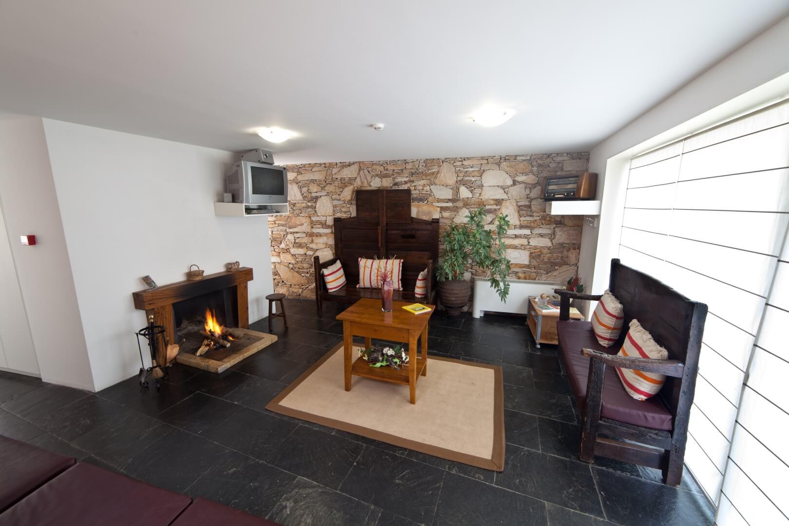 casa de turismo rural com lareira