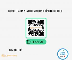 Consulte a Ementa do Restaurante Típico D. Roberto