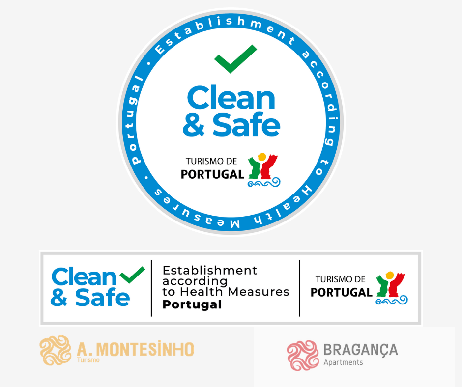 Selo clean & Safe Bragança Apartments